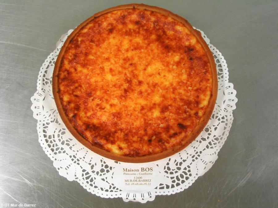 La tarte à la tome du Carladez prête à être dégustée