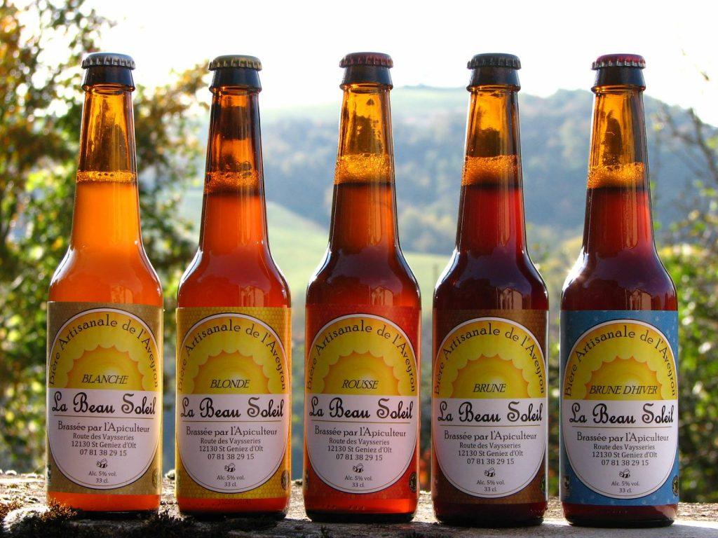 La beau soleil, bière de l'Aveyron