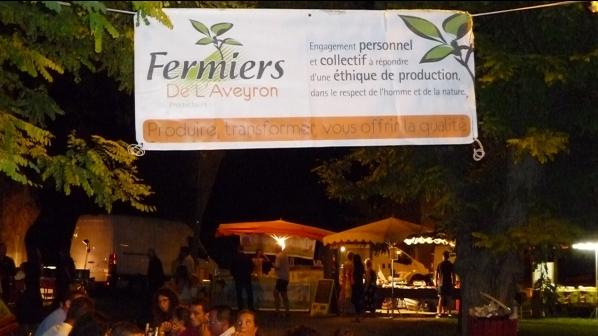 Marché des producteurs-fermiers, Millau, Aveyron