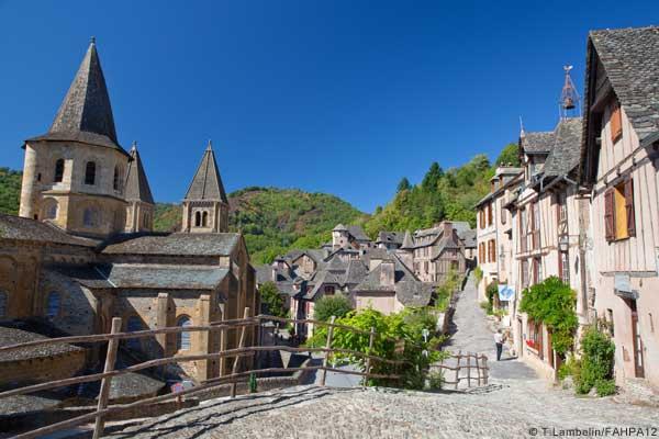 Conques en Aveyron ©T. Lambelin