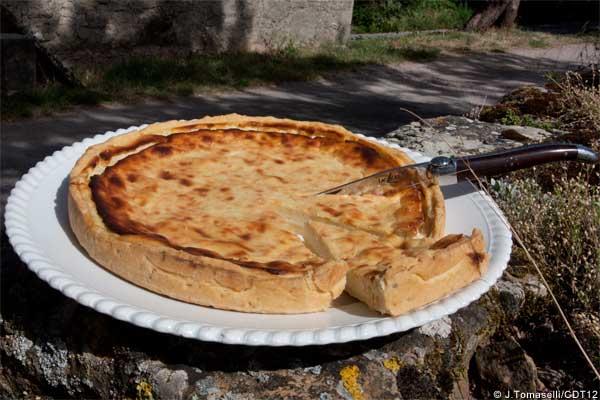 Flaune, spécialité du sud Aveyron © J.Tomaselli