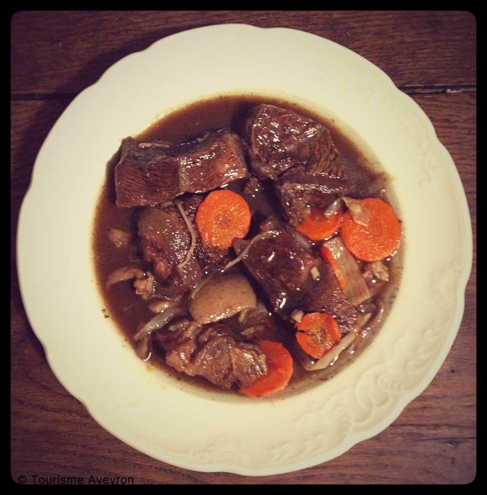 Coufidou, plat traditionnel de l'Aveyron