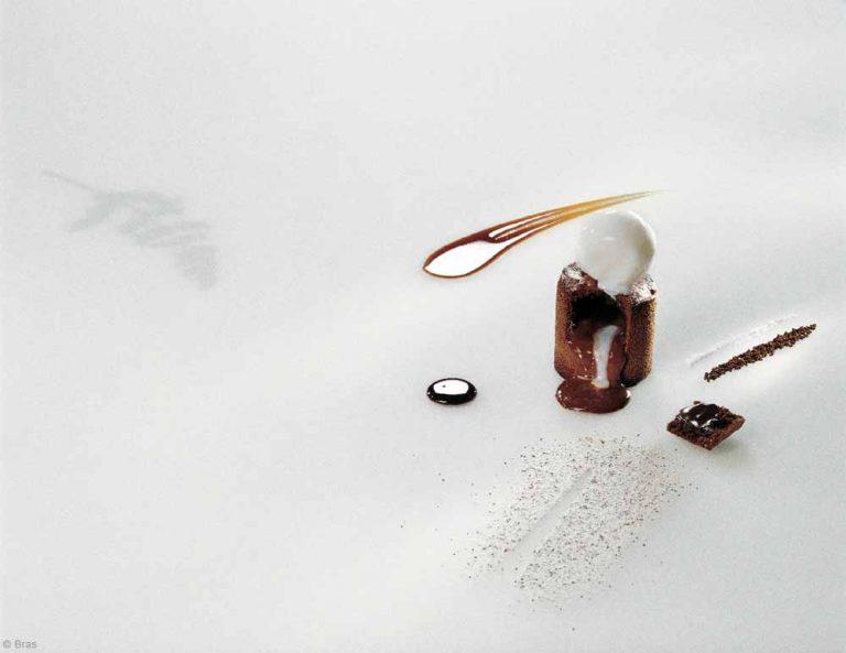 Coulant au chocolat de Michel Bras ©bras
