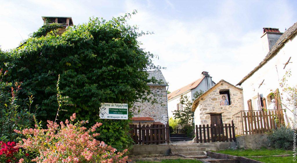 Ferme de Falgayroles, Aveyron © M. Hennessy - Tourisme Aveyron