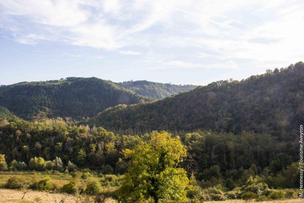 Paysage, Ferme de Falgayroles, Aveyron © M. Hennessy - Tourisme Aveyron