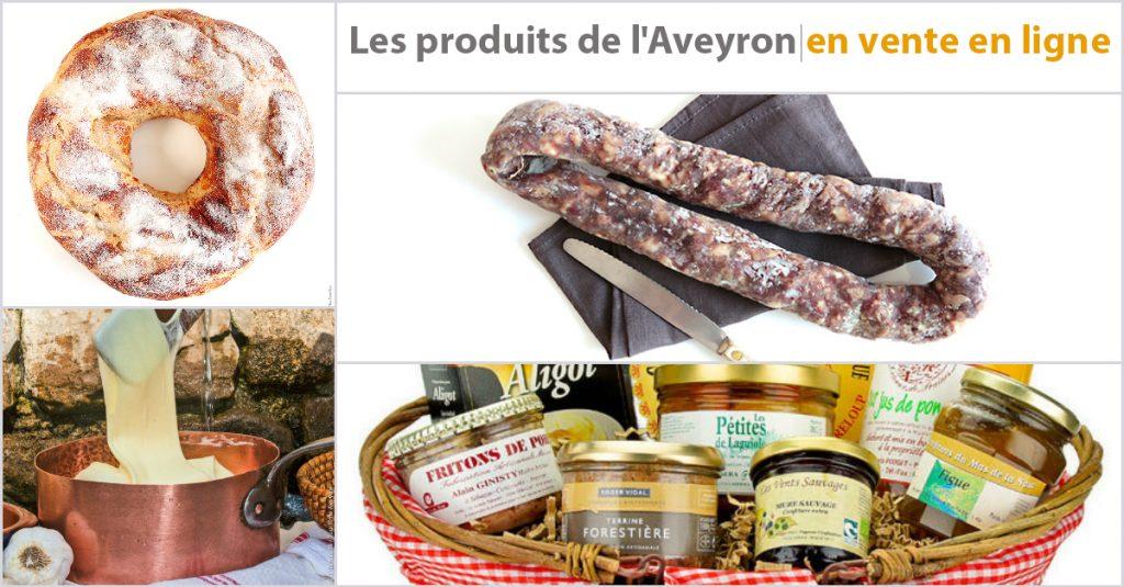 Les produits de l'Aveyron en vente en ligne