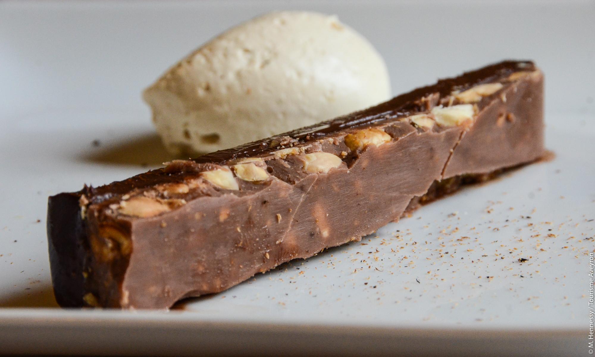"""Croustifondant"" chocolat praliné © M. Hennessy"