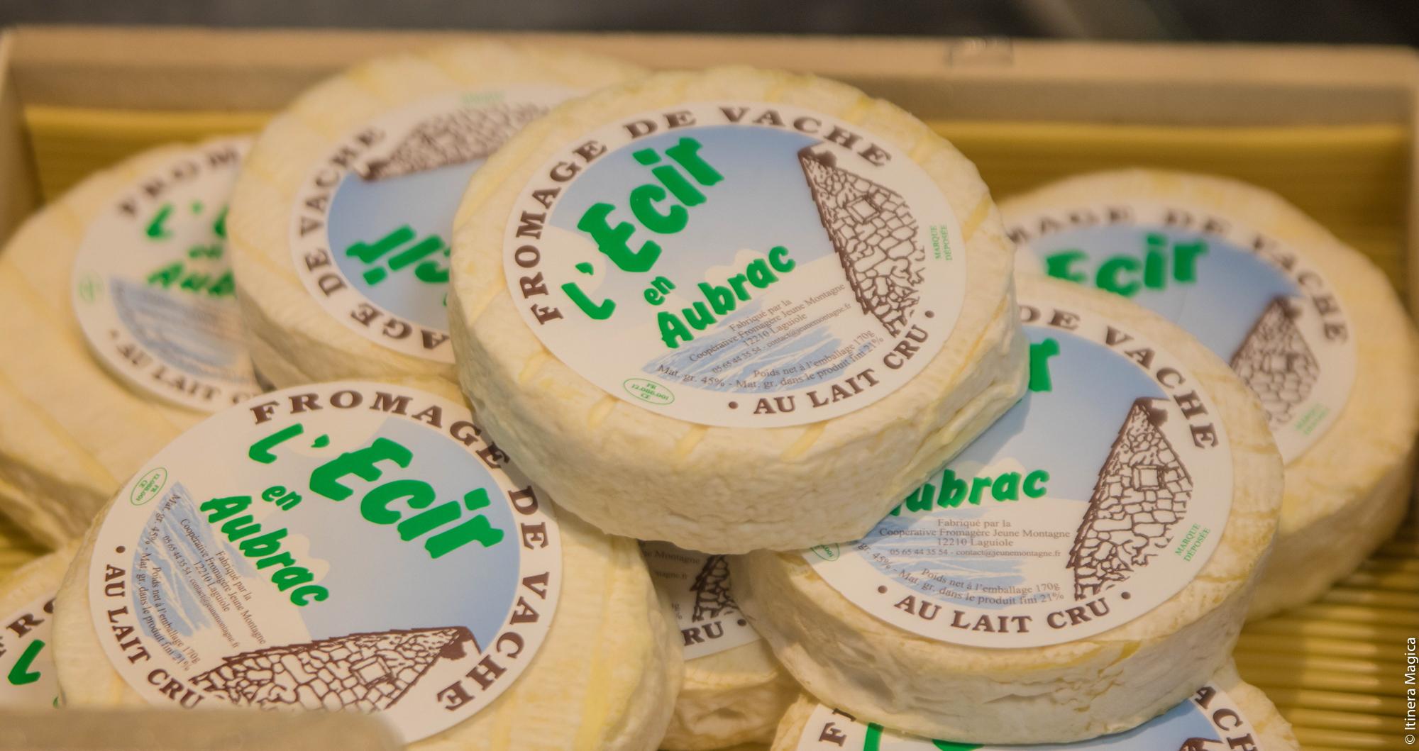 L'Ecir, fromage de l'Aveyron © Itinera Magica