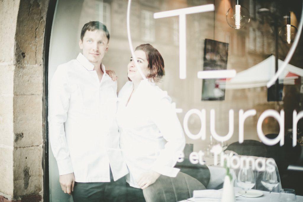 Emilie et Thomas, chefs du Restaurant ET à Rodez