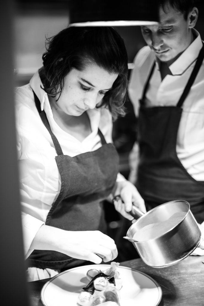 Emilie et Thomas, chefs du Restaurant ET