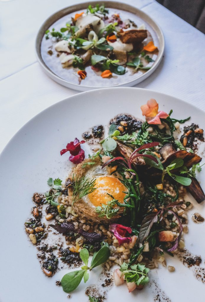 Plat du restaurant ET © Mathilde Chassin pour Food & Com
