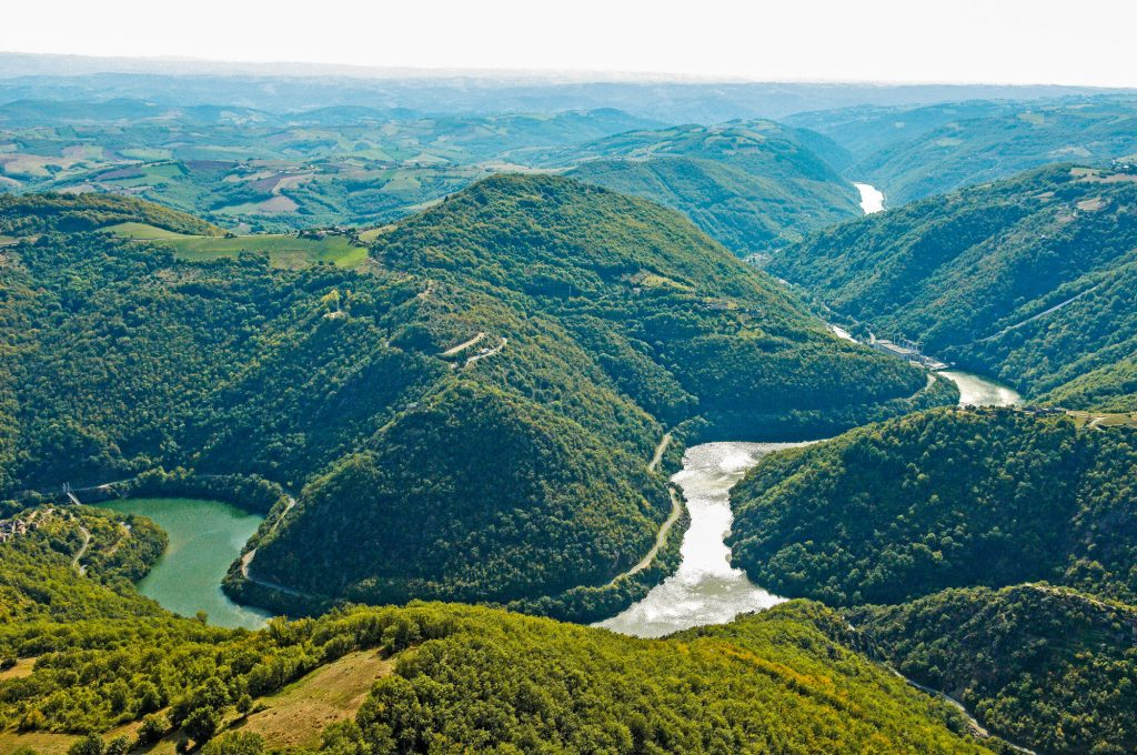 Ayssènes dans les Raspes du Tarn en Aveyron © C. Bousquet - CD12